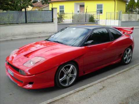 fiat coupe tuning youtube