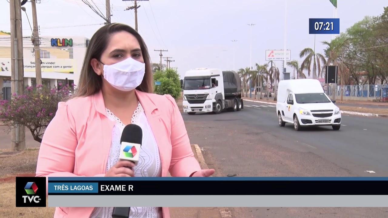 Exame reprova 172 motoristas profissionais por uso de droga
