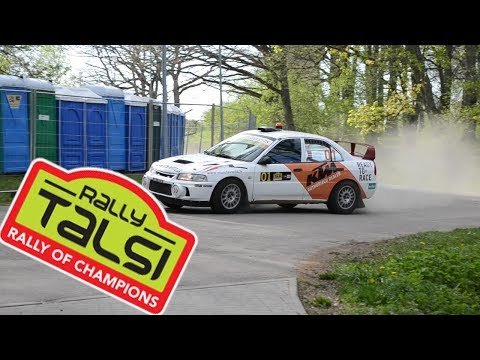 Rally Talsi 2017 (Mistakes, Action, Crash)