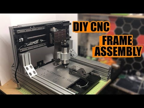 DIY Homemade CNC Part 3 - Fixed Gantry Frame Assembly