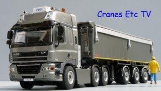 WSI DAF CF 85 + Tipper Trailer by Cranes Etc TV
