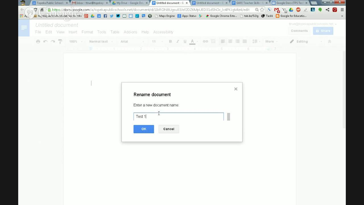 Google Docs - Name an Untitled Doc - YouTube c66af8c99a