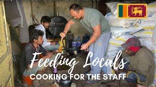 Feeding the Workers | Local Sri Lankan Life | Ambewela Farmhouse Part 2 | 🇱🇰