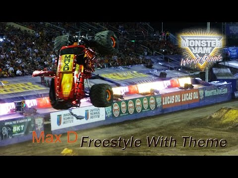 Red Max-D Freestyle With Theme