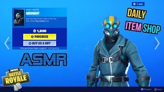 ASMR - France Fortnite NEW Aeronaut Skin et Aero Axe! Mise à jour de l'article Shop 🎮🎧Relaxing Whispering😴💤