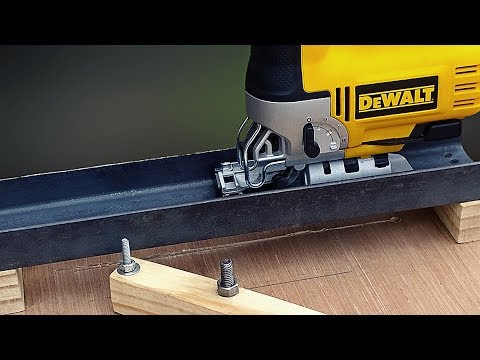 Wow Amazing Woodworking Idea With Jigsaw !