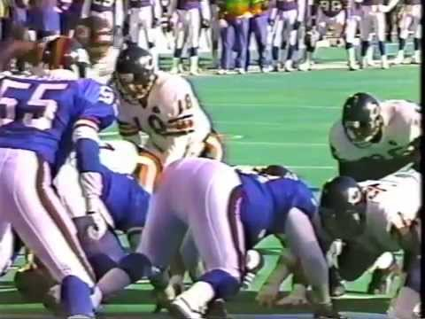 NY Giants Classics: 1990 Goal Line Stand vs Bears