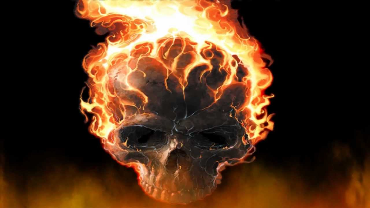Fire Skull Screensaver Http://www.screensavergift.com