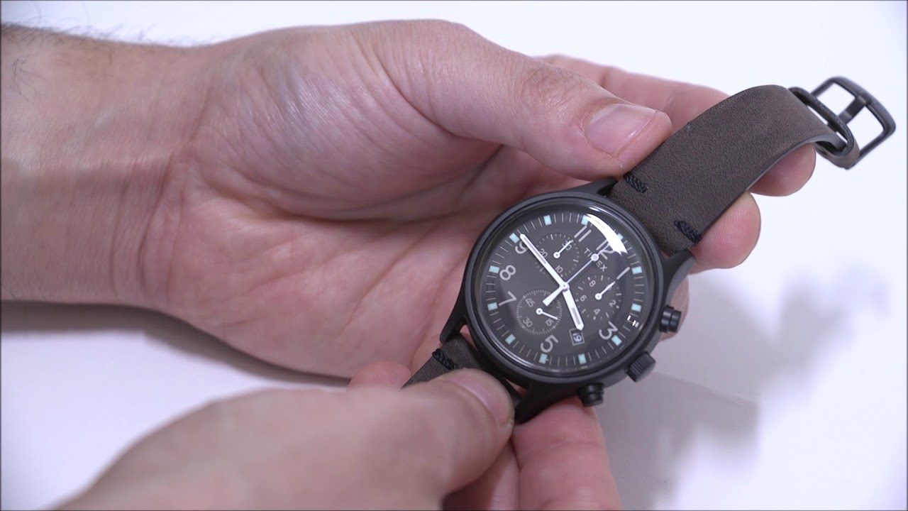 3c178e87edea Timex MK1 Steel Chronograph 42mm Watch Review