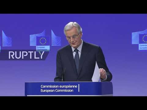 LIVE: Barnier holds press conference in Brussels