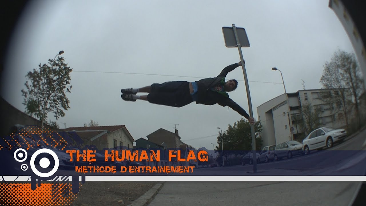 comment faire le drapeau human flag m thode tutorial complet youtube. Black Bedroom Furniture Sets. Home Design Ideas
