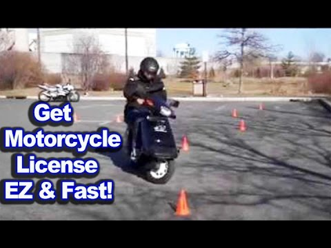 Get Motorcycle License Easy And Fast Motovlog Youtube