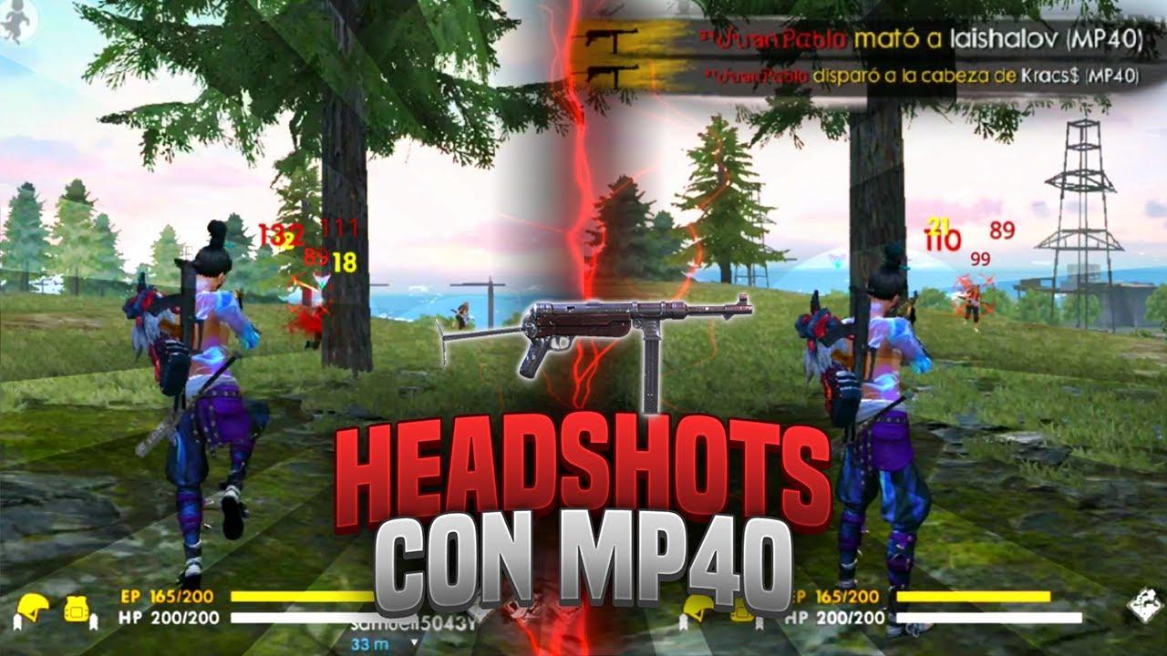 Resultado de imagen para mp40 free fire pvp