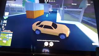 Getting the mustang in Roblox jail break