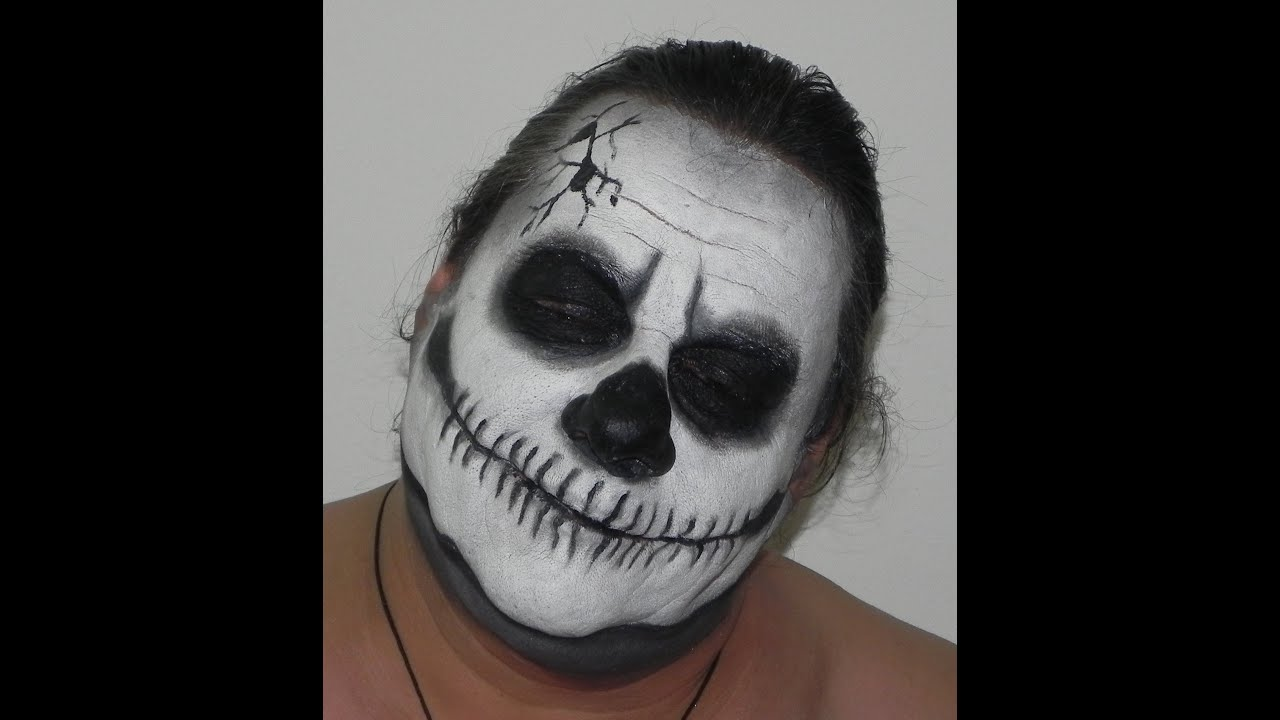 halloween tutorial make up teschio skull youtube. Black Bedroom Furniture Sets. Home Design Ideas