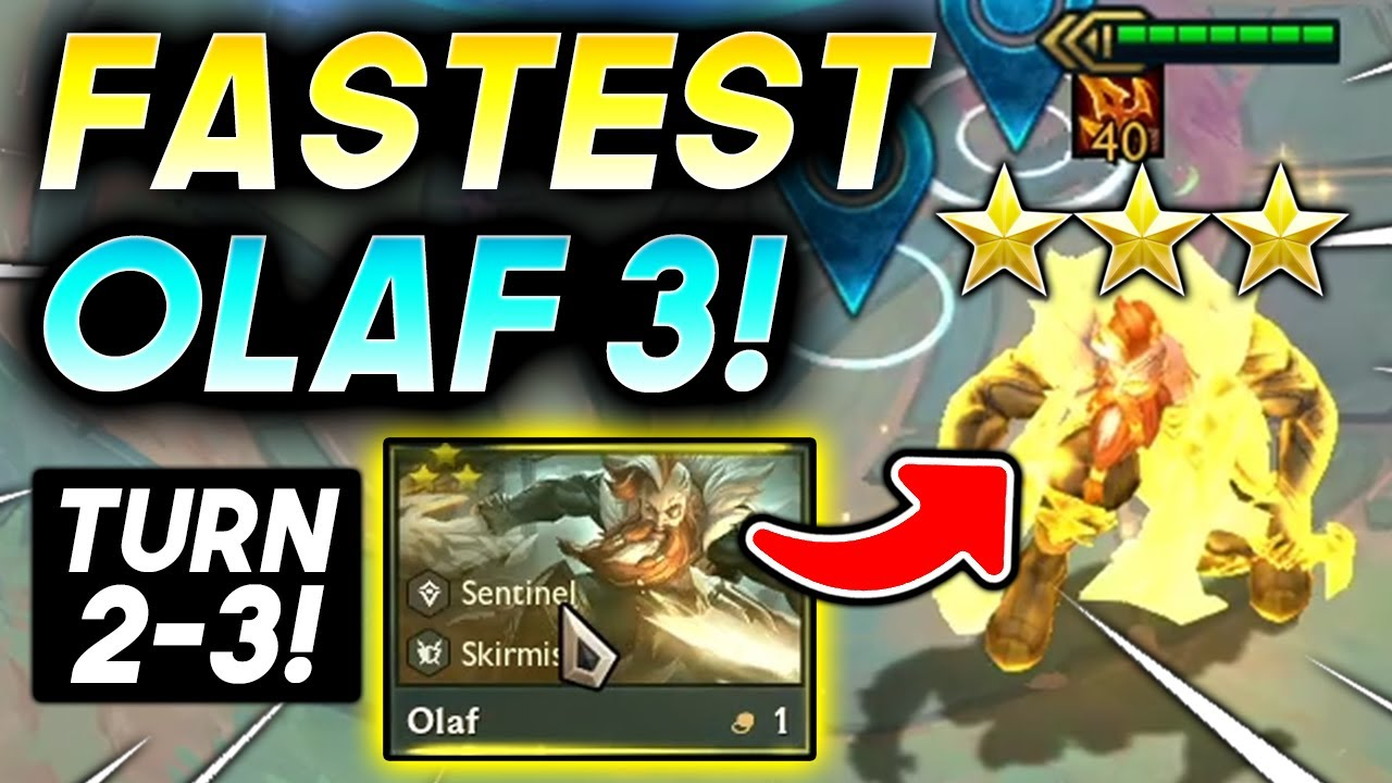 Download *3 STAR OLAF ⭐⭐⭐ IN 3 TURNS!* - TFT SET 5.5 Guide Teamfight Tactics Best Ranked Comps 11.18 Strategy
