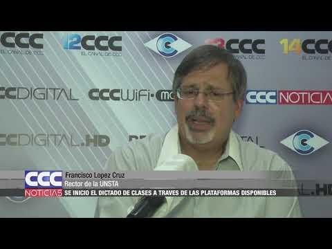 08 Francisco Lopez Cruz  En la UNSTA se dictan clases a través de plataformas digitales