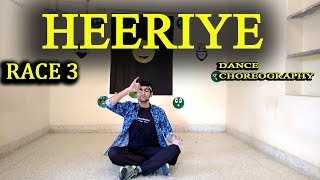 heeriye race 3 salman khan | dance choreography video song | goran the bolt