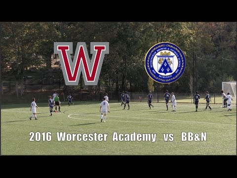 2016 Worcester Academy Soccer vs  BB&N