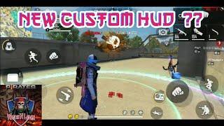 FREE FIRE || HIGHLIGHTS #2 NEW CUSTOM HUD