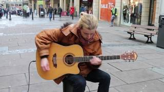 Queen - Don't Stop Me Now - The Amazing Joe Downes - Guitar - Busking - Bath mp3