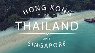 Download Video THAILAND 2016, HongKong and Singapore (GoPro & Drone) MP3 3GP MP4