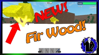 Roblox Lumber Tycoon 2 - Fir Wood - WINTER GAMES CHECK IT OUT