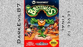Battletoads (Sega Genesis) The Revolution - Level 12 (Final)