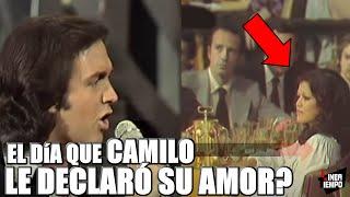 ANGELA CARRASCO Y EL DÍA QUE CAMILO SESTO LA DEJO EN SHOCK EN UNA DE SUS PRESENTACIONES