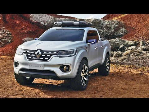 Renault ALASKAN Pickup Concept – Official Trailer