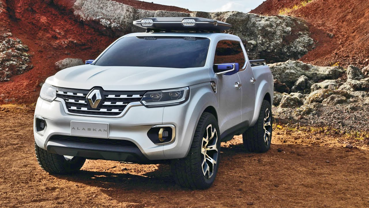 renault alaskan pickup concept official trailer youtube. Black Bedroom Furniture Sets. Home Design Ideas