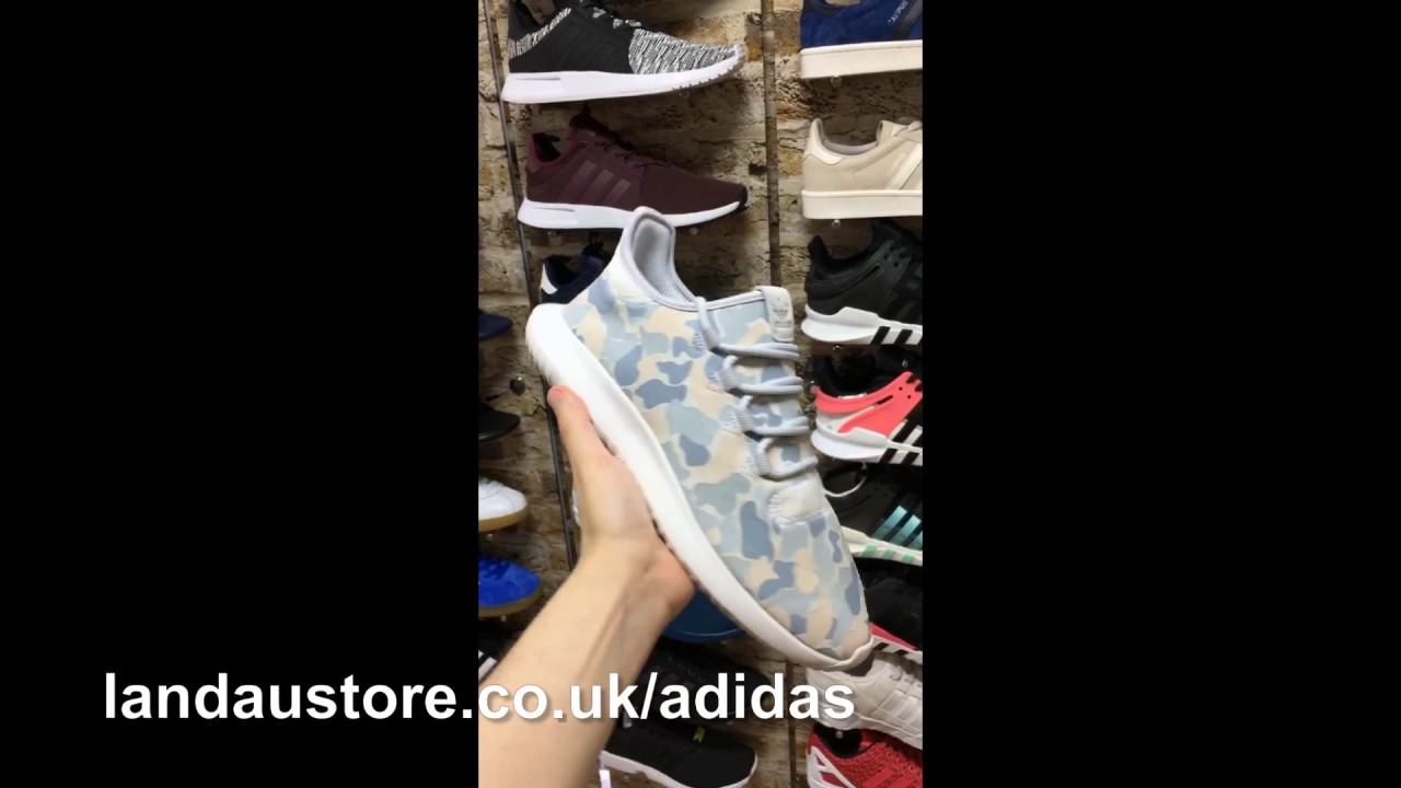 097312f5aa84 Check out these Adidas Trainers Mens Tubular Shadow White Camo - YouTube