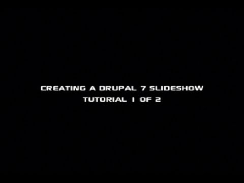 How to Create a Drupal 7 Slideshow with Views: Tutorial 1 of 2