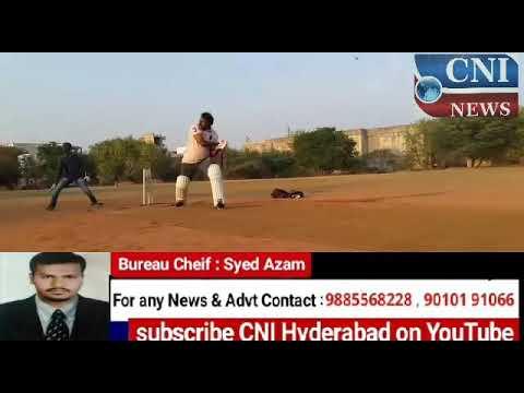 Hyderabad City Police Cricket tournament.Sri.V.Satyanarayana IPS along with