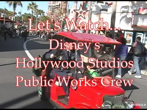 Let's Watch - The Public Works Crew at Hollywood Studios - The Bucket Challenge 001
