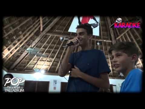 Karaoke Junior Club - People Of Palladium Riviera Maya.