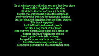Fort Minor There They Go Lyrics