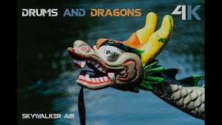 Drone Footage of Drums and Dragons🔥