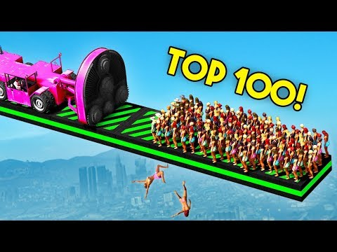 TOP 100 FUNNIEST GTA 5 FAILS EVER! (Funny Moments Grand Thef