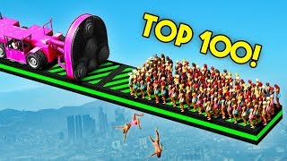 TOP 100 FUNNIEST GTA 5 FAILS EVER Funny Moments Grand Theft Auto V Compilation