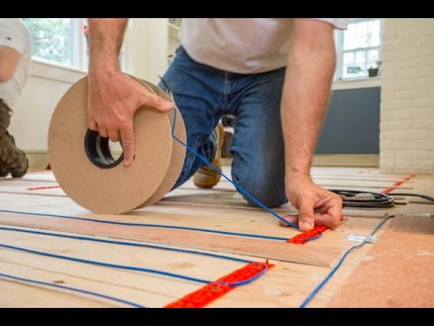Installing warmup electric radiat heat under hardwood flooring youtube installing warmup electric radiat heat under hardwood flooring solutioingenieria
