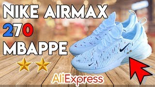 NIKE AIR MAX 270 MBAPPE Unboxing & On Feet - ALIEXPRESS / DHGate Lien caché