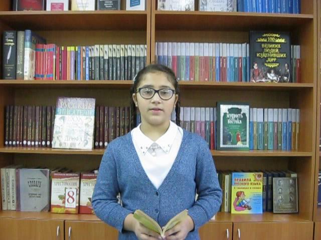 Изображение предпросмотра прочтения – ОдалиФархулина читает произведение «Пока есть небо» В.Я.Брюсова