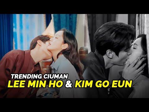 Ciuman Leher Lee Min Ho Dan Kim Go Eun Masih Jadi Trending Topik