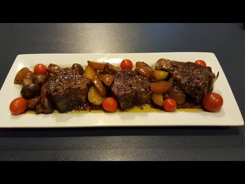 Lamb Chops With Roasted Potatoes