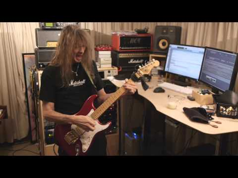 The Gentle Storm Behind the Scenes update 5 - Arjen Lucassen, Multi-instrumentalist