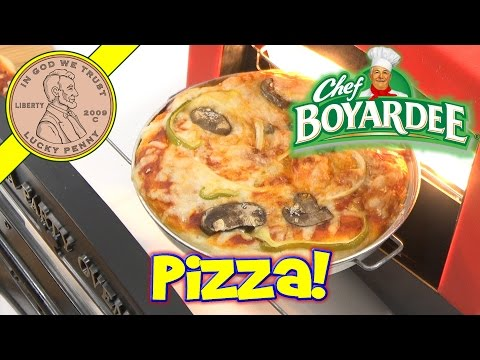 Chef Boy-ar-dee Party Pizza Kids Toy Oven - Light Bulb Baking!