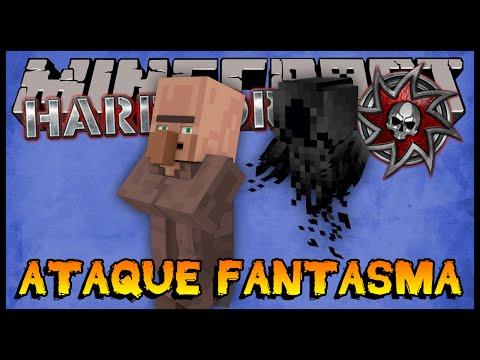 Ataque Fantasma a Vila!! MISTÉRIO!!!! - Hardcore 2 #39 (Minecraft 1.8)