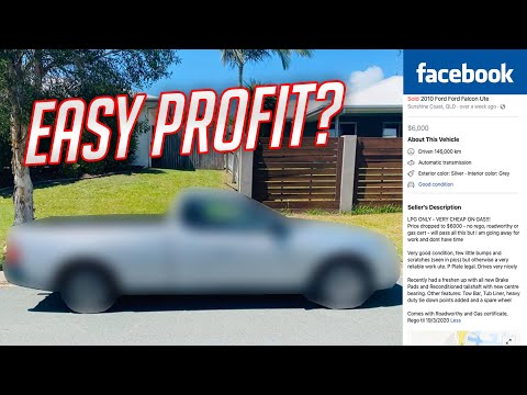 Buying An Aussie UTE On Marketplace To FLIP For PROFIT: Is It Possible?