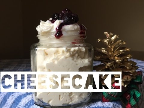 Healthy Cheesecake Recipe | How To Make Cheesecake That's Low Fat And Low Carb